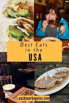 Best Eats in the USA | United States travel | United States food | Chicago Deep Dish Pizza |Denver Farm-to-Table | Kansas City Barbecue | Memphis Barbecue | Nashville Hot Chicken | Raleigh Shrimp and Grits | St. Louis Brunch |  Portland Food Carts: