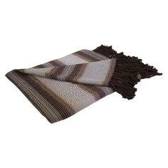 Bamboo Stripe Throw Blanket