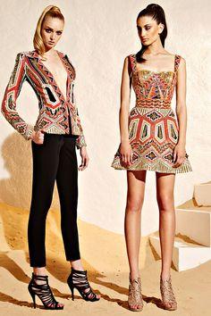 Zuhair Murad Resort 2015 Fashion Show Collection Style Haute Couture, Couture Fashion, Runway Fashion, High Fashion, Fashion Show, Womens Fashion, Fashion Design, Gypsy Fashion, Net Fashion