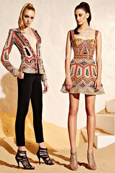 (Right) One of my favorite looks from Zuhair Murad Resort 2015 Collection