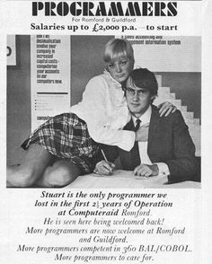 Ad for programmers in 70s  #lol #lmao #funny #programming
