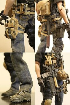 My first Kitbash - Modern Warfare (beware 16 images) - OSW: One Sixth Warrior Fo. - Stuff to Buy - raspel Tactical Survival, Survival Gear, Tactical Gear, Tactical Truck, Survival Guide, Paintball Gear, Airsoft Gear, Military Gear, Military Weapons