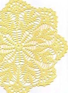 Crochet doily lace doilies table decoration by DoilyWorld on Etsy