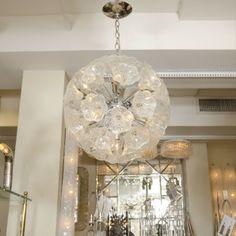 Large Brass Starburst Ceiling Fixture | Chandeliers U0026 Pendants | John  Salibello 38 Inches Diameter | Dining Room | Pinterest | Ceilings,  Chandeliers And ...