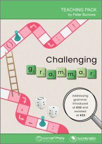 Challenging grammar teaching pack
