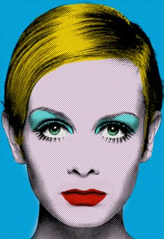 Pop art: a movement starting in late that uses objects, imagery, and themes that are common in popular culture and mass media. Twiggy by Andy Warhol Andy Warhol Pop Art, Roy Lichtenstein, Arte Pop, Richard Hamilton, Culture Pop, Jasper Johns, Twiggy, Art Plastique, Popular Culture