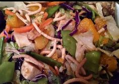 Oriental Salad with Chicken Recipe -  How are you today? How about making Oriental Salad with Chicken?