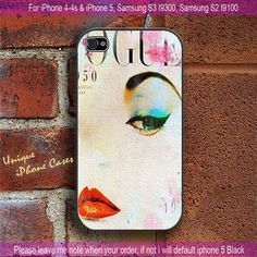 Vogue - iPhone 4 / iPhone 4S / iPhone 5 / Samsung S2 / Samsung S3 / Samsung S4 Case Cover