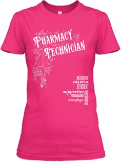 Pharmacy Technician Tee