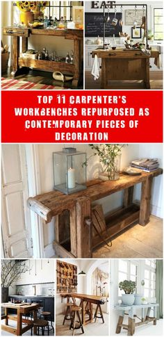 If you're used to hang around antique markets, then I'm sure you already stumbled upon Carpenter's workbench. These pieces of solid wood tell a story at the first sight, but you wondered what you could do with it? Here are…