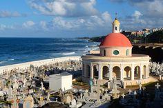 Ahmmm... Yah, that's a cemetery. San Juan, PR