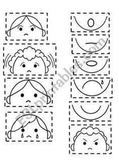 Feelings Worksheets for Kindergarten. 24 Feelings Worksheets for Kindergarten. Feelings Preschool, Teaching Emotions, Emotions Activities, Social Emotional Learning, Feelings And Emotions, Preschool Activities, Kindergarten Worksheets, Worksheets For Kids, Therapy Worksheets