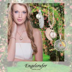 Andělské novinky jsou tady! ENGELSRUFER - šperk, který přivolá strážného anděla, ale může být i magickým talismanem či jen krásnou ozdobou. Hledejte v prodejně Corial, Nový Smíchov.