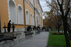 Inside the Kremlin walls