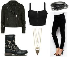 Fashion Inspiration: Orphan Black (Sarah) aka punk rock ho