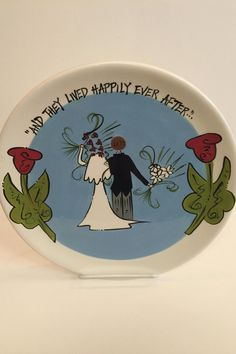"Wedding season is here! Celebrate the happy couple with this whimsical 15.5""x15.5"" platter. We will personalize with their names and wedding date if you like. Names__________________________ Wedding Date_______________________________    To add personalization details email stylist@shoptiques.com    Wedding Platter by Magnolia Lane Collection. Home & Gifts - Gifts - Gifts by Occasion - Wedding & Engagement Home & Gifts - Gifts & Things West Virginia"