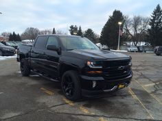 2016 Chevy Silverado Blacked out