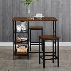 Dorel-Living-3-Piece-Pub-Sets-Kitchen-and-Dining-Small-Spaces
