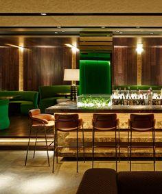 Alfons Tost traslada el glam de la época dorada de Hollywood al nuevo restaurante madrileño The Hall. | diariodesign.com