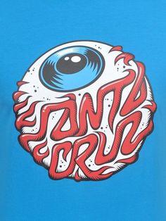 Skateboard Deck Art, Skateboard Parts, Skateboard Design, Santa Cruz Stickers, Santa Cruz Logo, Dope Wallpapers, Skate Art, Retro Logos, Graffiti Art