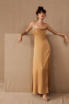 Fame and Partners Rosabel Dress by in Yellow Size: Women's Dresses at Anthropologie Spring Bridesmaid Dresses, Bridal Party Dresses, Prom Dresses, Evening Dresses, Dress Prom, Fall Dresses, Long Dresses, Mustard Bridesmaid Dresses, Spring Formal Dresses