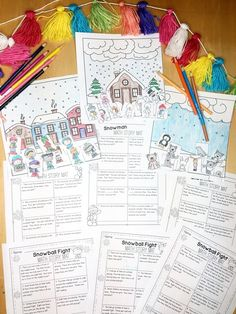 Ready to have a blast while teaching your students how to visualize and solve word problems? This pack is a print and go unit for the winter months. If paced throughout the winter months, your students should have six weeks of word problem practice to use in math centers, morning work or homework.