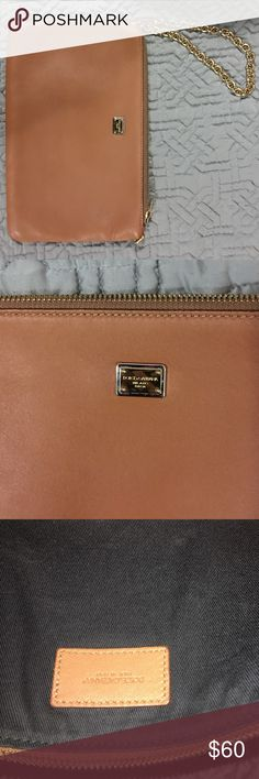 Soft leather hand clutch .Dolce & gabbana Good condition !!! Sale D&G Bags Clutches & Wristlets