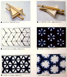 Using shibori techniques to tie dye - Tutorial in Spanish, with ...
