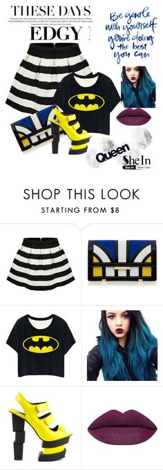 """""""You like my stripes?"""" by egelilodos ❤ liked on Polyvore featuring Aperlaï, Privileged, women's clothing, women, female, woman, misses and juniors"""