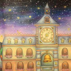 Instagram media colorsbykat - Clock Tower #romanticcountry #eriy…