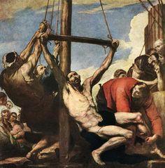 Jose de Ribera, Martyrdom of Saint Peter, 1639, Oil on canvas, Madrid
