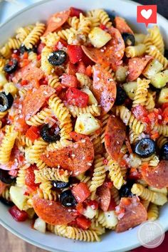 Easy Pasta Salad Recipe, Best Pasta Salad, Cold Pasta Salads, Pasta Salad Recipes Cold, Summer Pasta Salad, Recipes For Pasta, Summer Recipes, Macaroni Salads, Cookout Side Dishes
