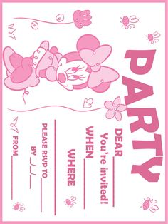 the 132 best printable invites party pkgs images on pinterest