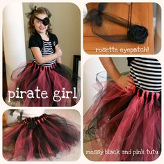 pirate girl's tutu