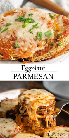 Eggplant Dishes, Easy Eggplant Recipes, Italian Eggplant Recipes, Easy Italian Recipes, Best Italian Dishes, Italian Dressing Recipes, Fancy Recipes, Baked Eggplant, Italian Salad