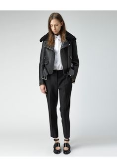 Acne Studios / Mape Leather Jacket   |   La Garçonne | La Garconne