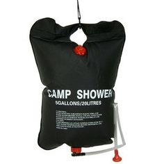 Portable Pipe Bag 20L Outdoor Camping Hiking Solar Energy Heated Camp Shower pornpojshop