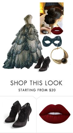 """Untitled #400"" by mademoiselle-red on Polyvore featuring moda, Christian Dior, Lauren Jones i Lime Crime"