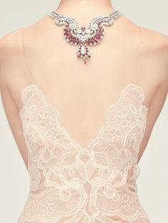 Giorgio #Armani Privé Fall 2013 lace dress