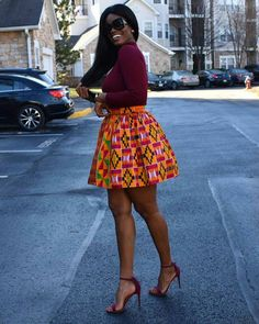 35 Creative Ankara Styles For Every Fashionista Women Fashion Short African Dresses, African Fashion Designers, Latest African Fashion Dresses, African Print Dresses, African Print Fashion, African American Fashion, African Attire, A Boutique, Ankara Styles