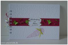 Weiteres - ~ Gästebuch zur Einschulung (Farbwahl) ~ - ein Designerstück von papierlook bei DaWanda