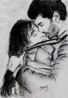 Aashiqui 2 movie, pencil drawing