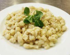 Denné menu Vranov | Strapačky s kyslou kapustou a slaninkou - reštaurácia Hotel Patriot*** #hotel #restaurant #food