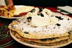 oreo pancakes // The Griddle Cafe //  Hollywood, CA