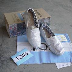 Women Toms Glitters