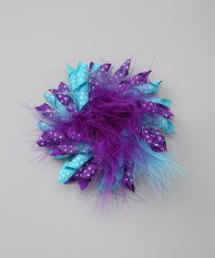 teal & purple