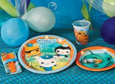 The Octonauts Party Packs