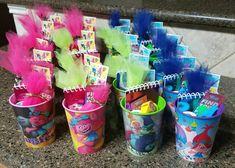 Trolls Birthday Party, 5th Birthday Party Ideas, Troll Party, First Birthday Parties, Birthday Party Decorations, First Birthdays, Third Birthday Girl, Hello Kitty Birthday, Los Trolls