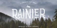 Download Font Rainier by Kimmy Design