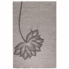 Home Decorators Collection Blooms Gray and Gray 8 Ft. x 11 Ft. Area Rug-0259830270 at The Home Depot